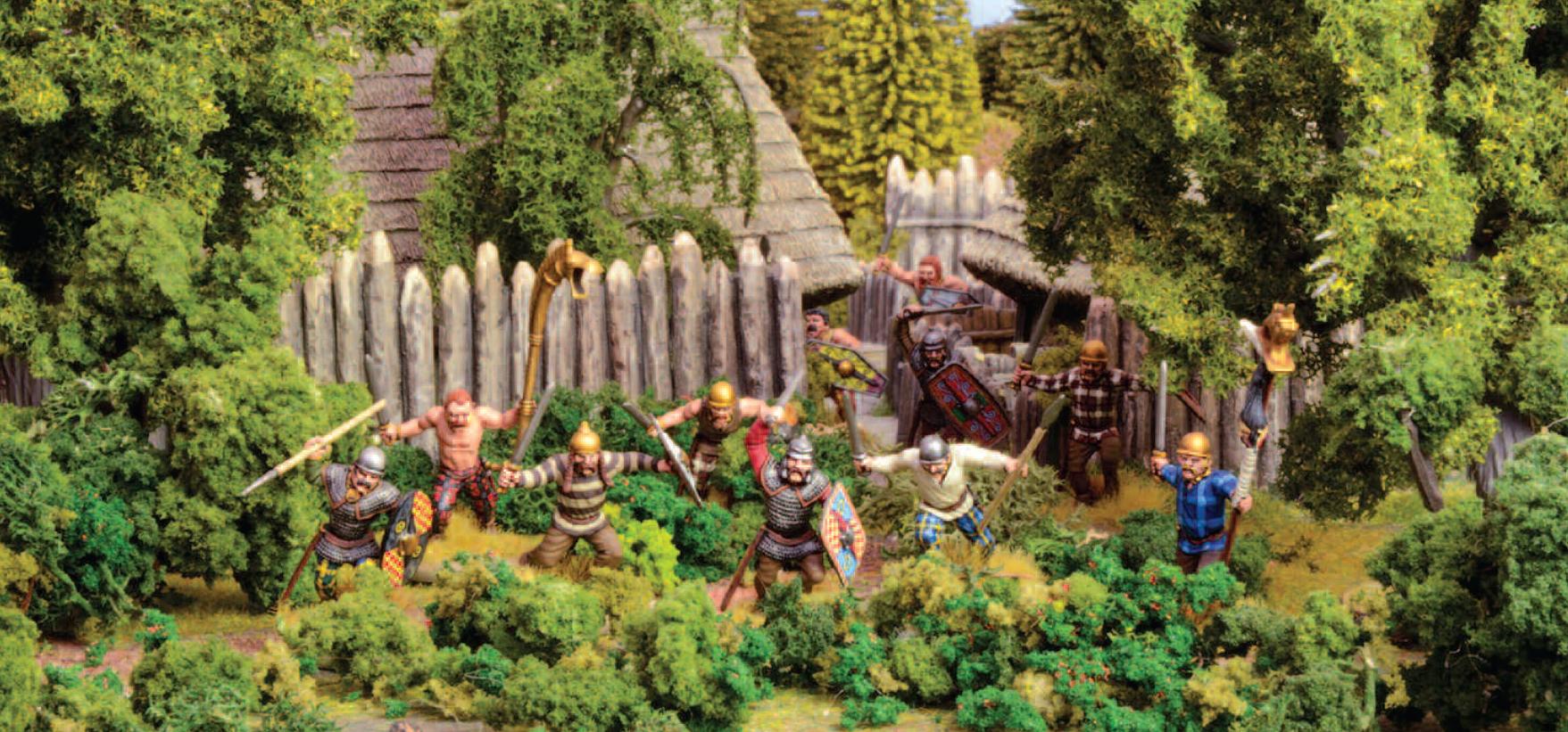 Gaul Warriors descend