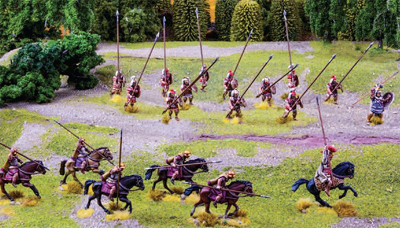 Muster the Companion Cavalry