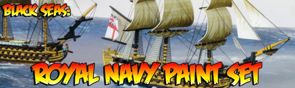 Black Seas: Royal Navy Paint Set