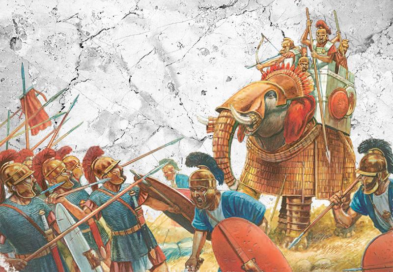 Macedonia in Battle artwork