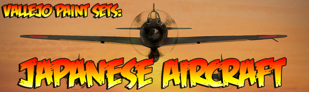 Vallejo Paint Sets: Japanese Aircraft