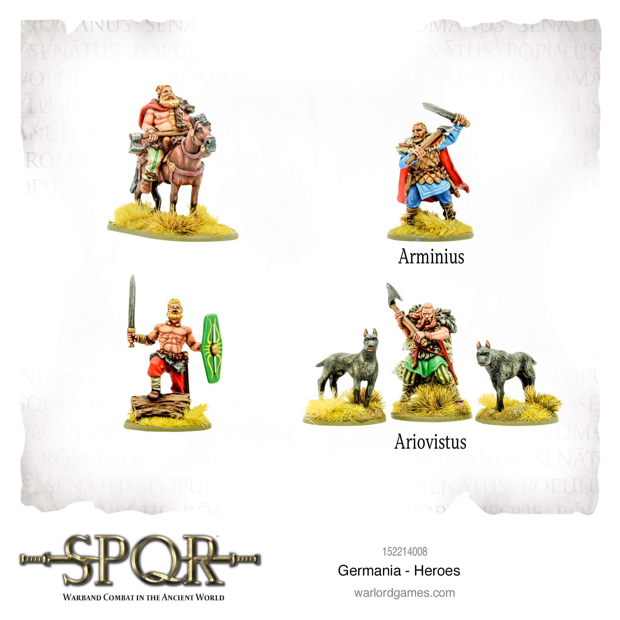SPQR: Germania - Heroes