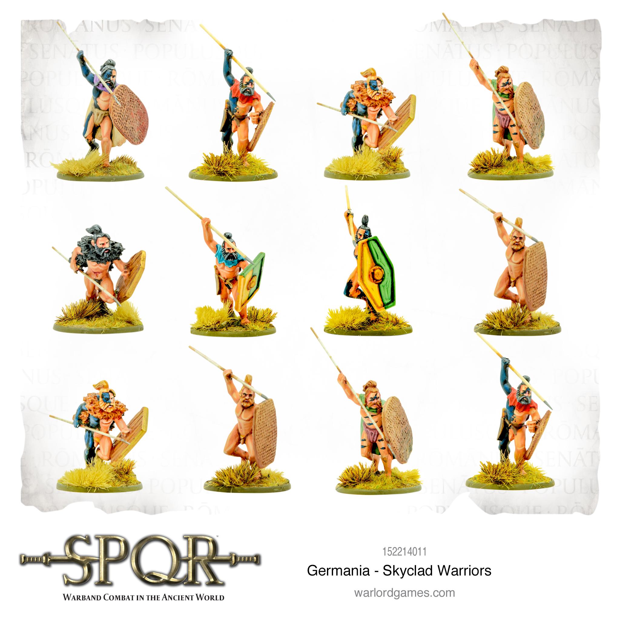 SPQR: Germania - Skyclad Warriors