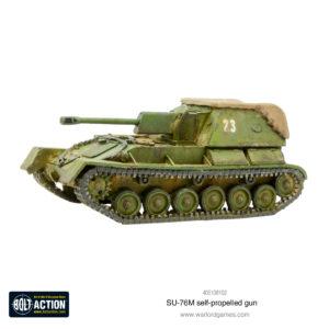 SU-76M self-propelled gun