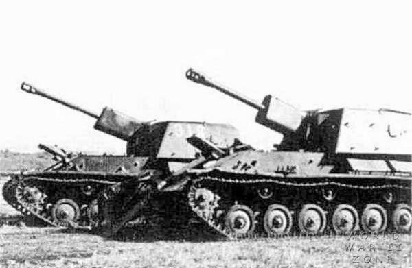 North Korean SU-76Ms