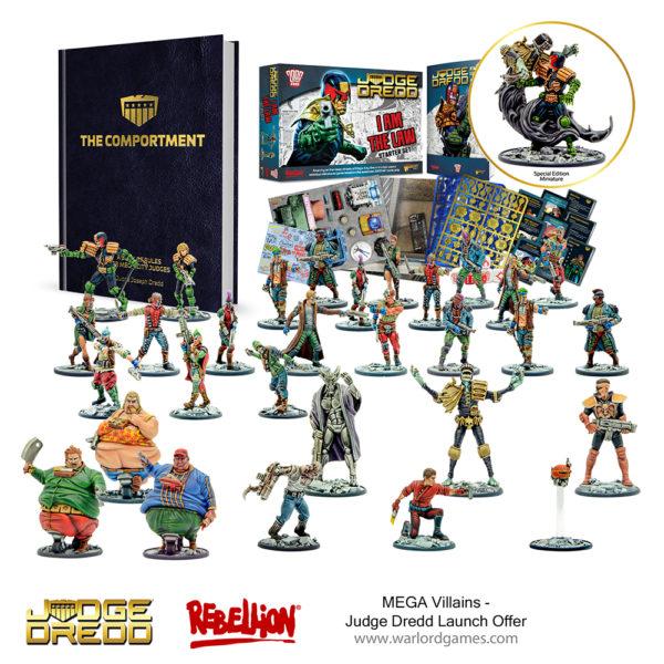 Judge Dredd - MEGA Villains