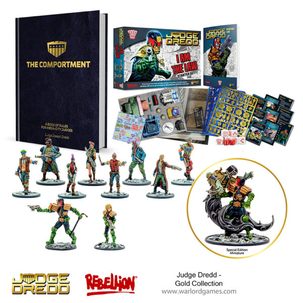 JUdge Dredd Gold Collection