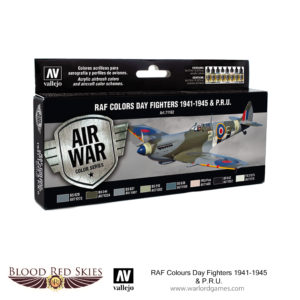 71162 RAF Colors Day Fighters 1941-1945 & P.R.U