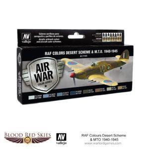 71163 RAF Colors Desert Scheme & MTO 1940-1945