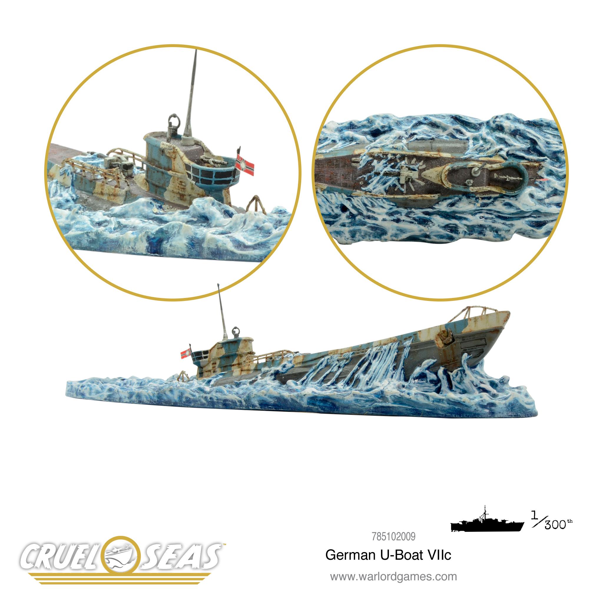 German U-Boat VIIc