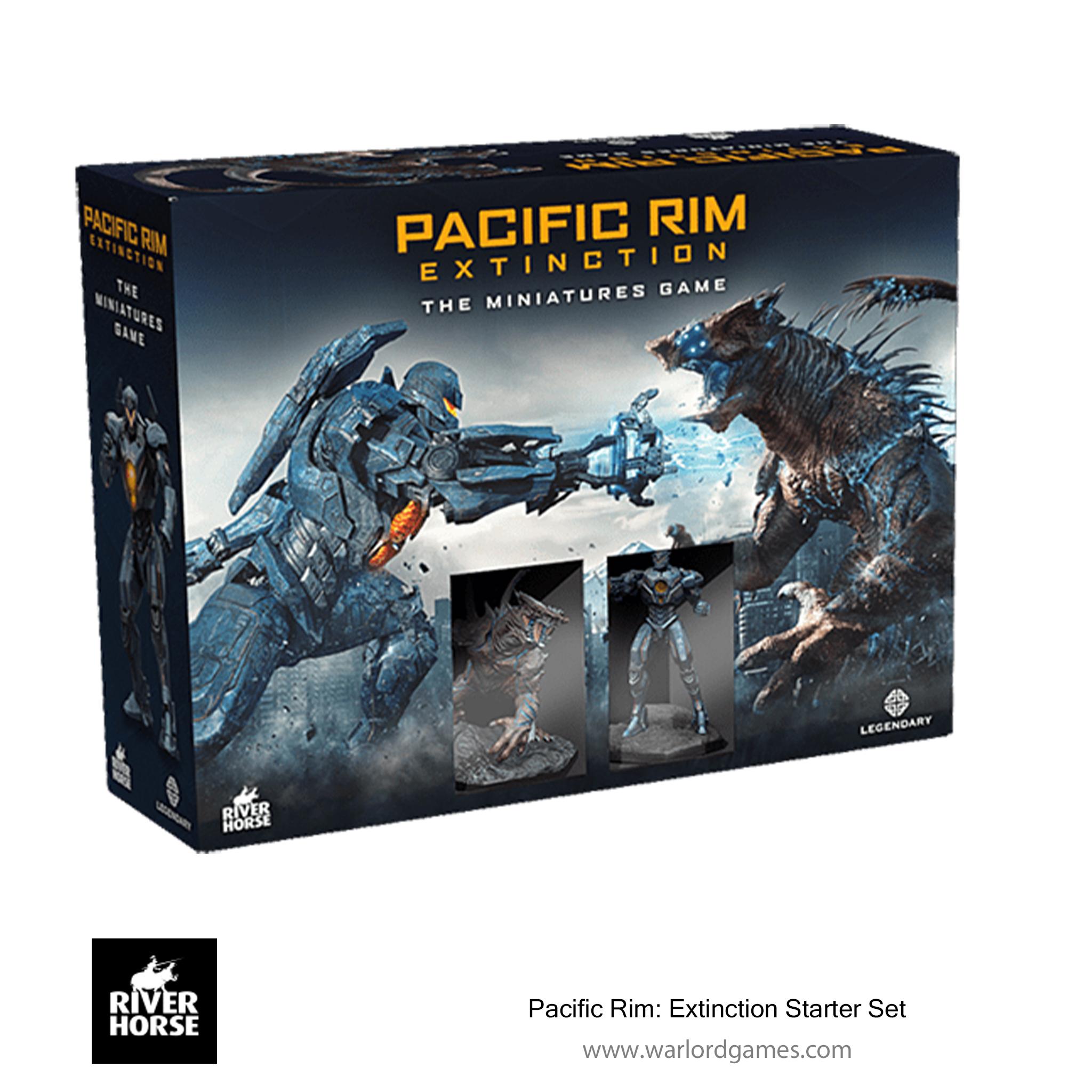 Pacific Rim Extinction - Starter set 3