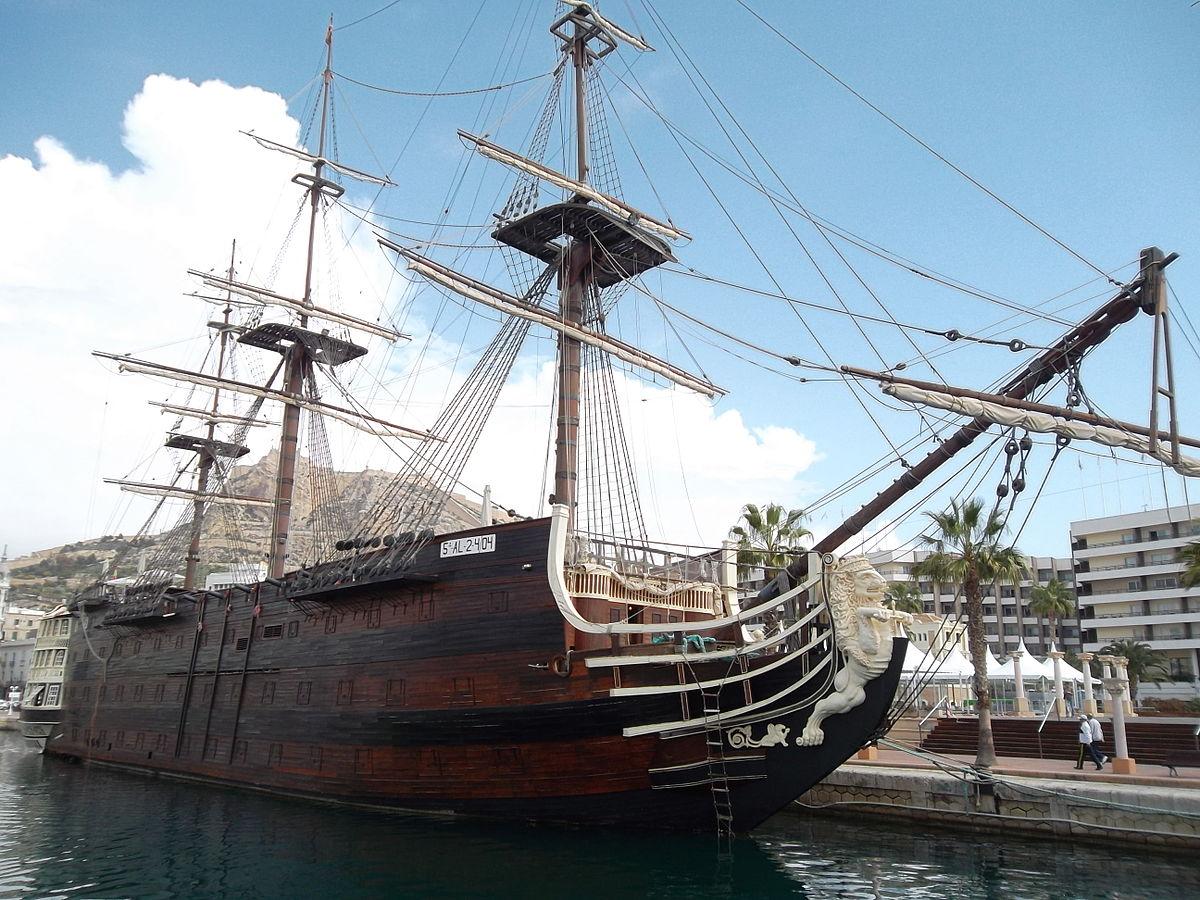 Replica of the Santisima Trinidad in Alicante