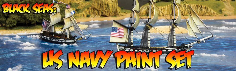 Black Seas: US Navy Paint Set