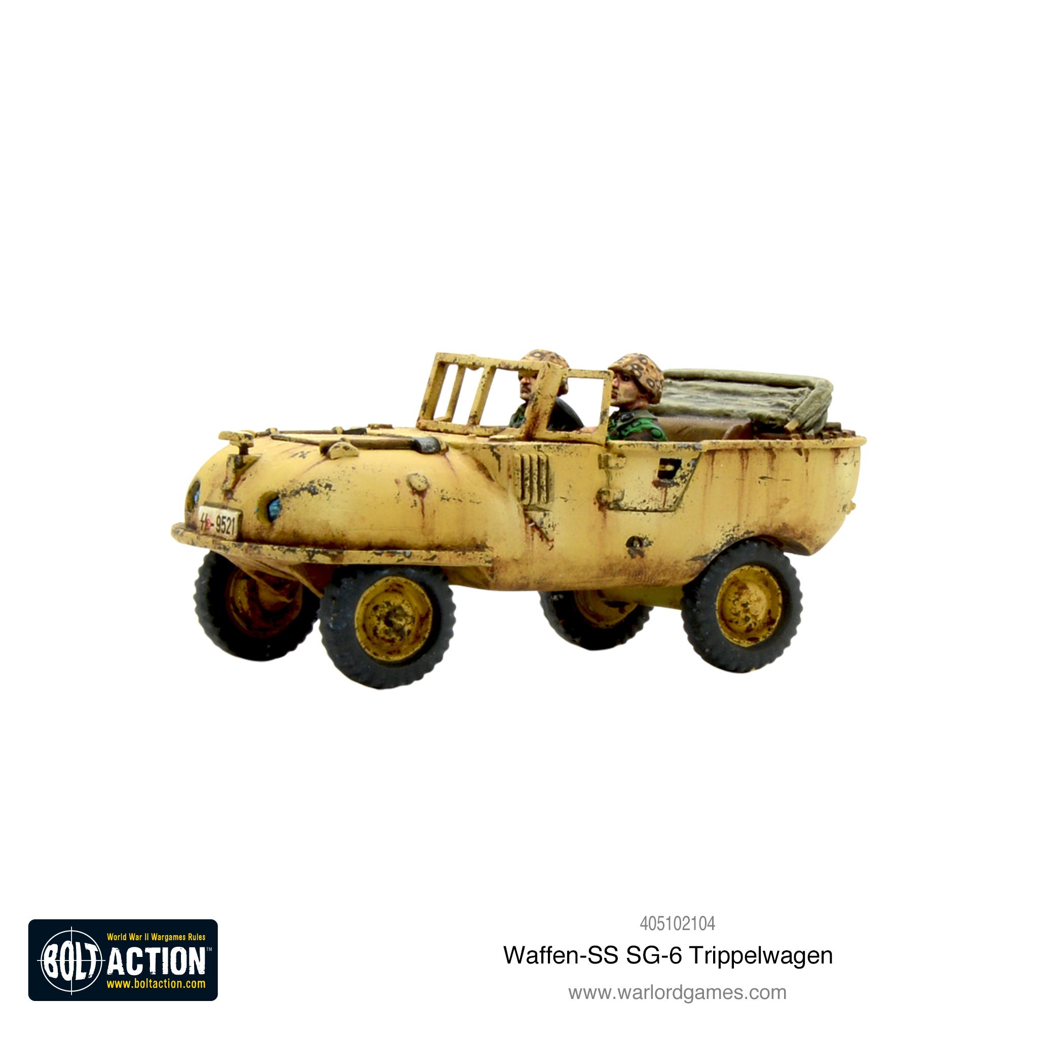 Waffen-SS SG-6 Trippelwagen