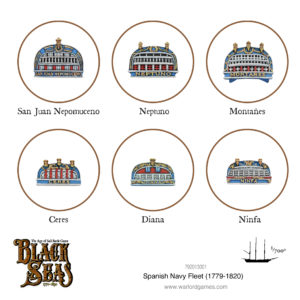 Spanish Navy Fleet (1770 - 1830)