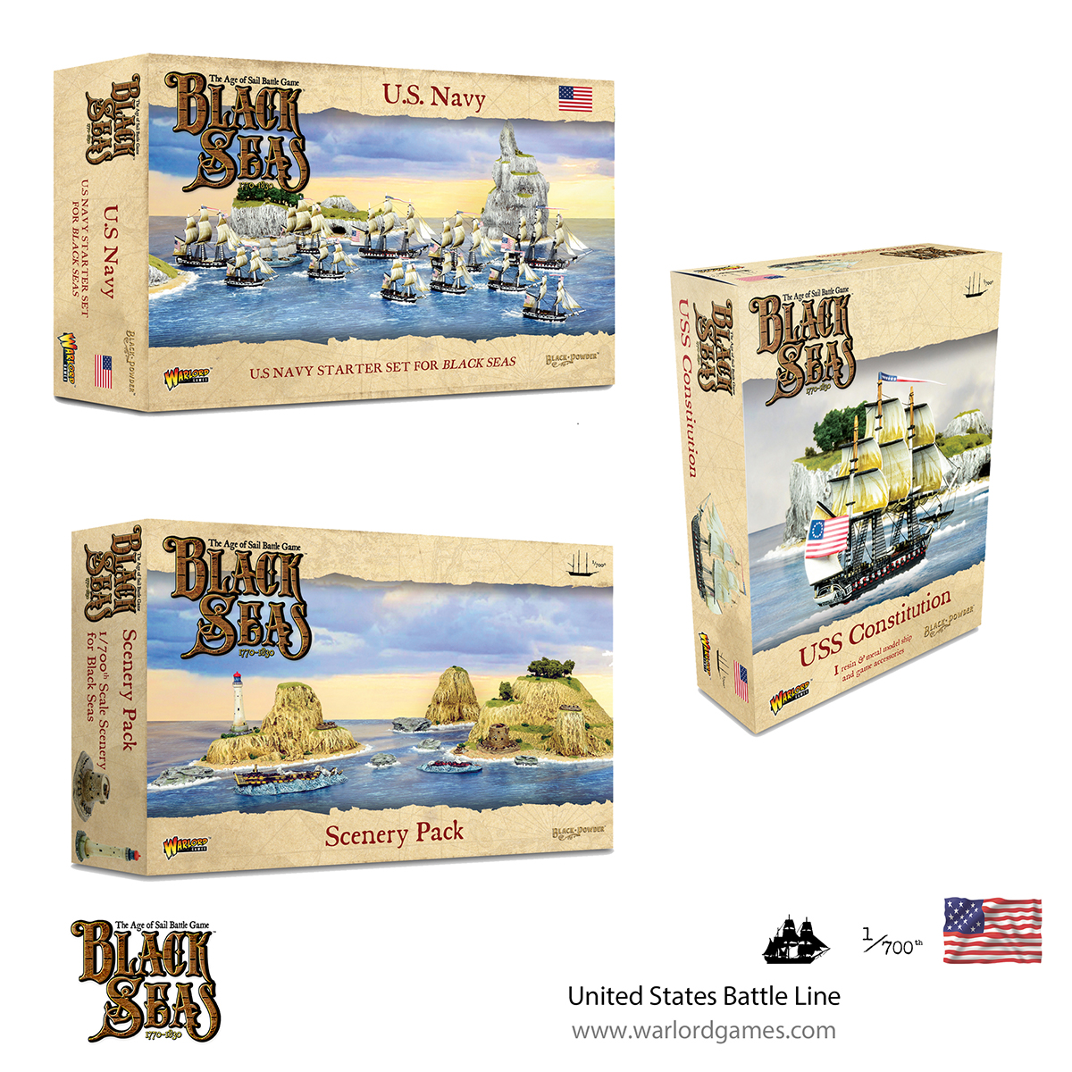 Black Seas United States Battle Line