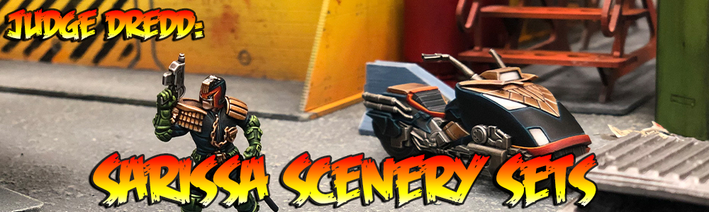 Judge Dredd: Sarissa Scenery Sets