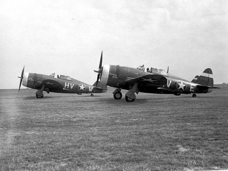 Thunderbolts of the 61st Fighter Squadron