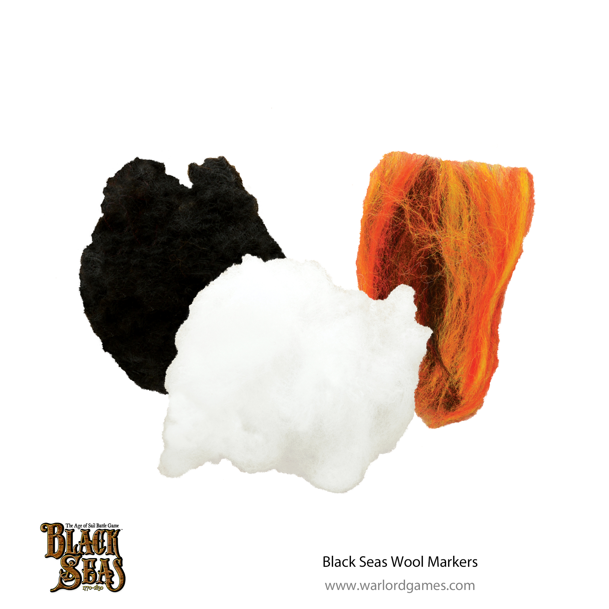 Black Seas Wool Markers