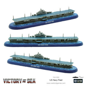 US Navy Fleet USS Essex