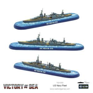 US Navy Fleet USS Houston