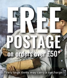 Free Postage on orders over £50/$50* | *Very large items may carry a surcharge.