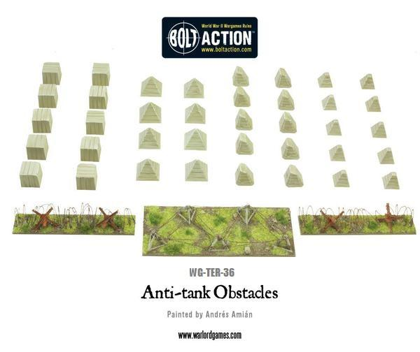 Anti Tank Obstacles