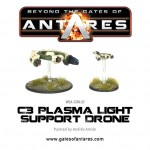 WGA-CON-23 C3 Plasma Light Support Drone
