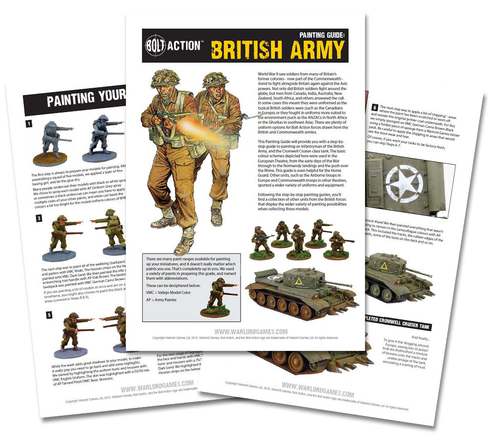 How I Paint Things - WW2 British and Commonwealth Infantry ...