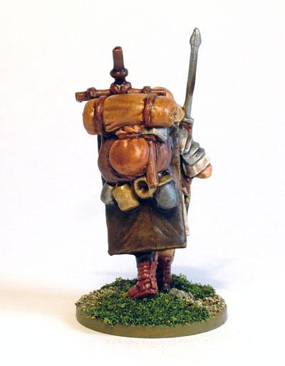 Marching Roman Legionary 1 (rear)