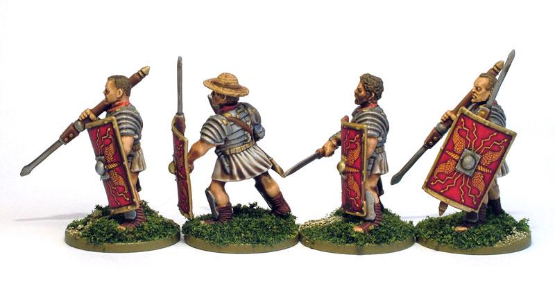 Roman Heads Side