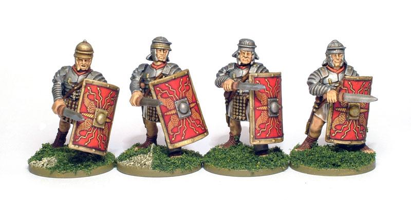 Roman Helmets Front