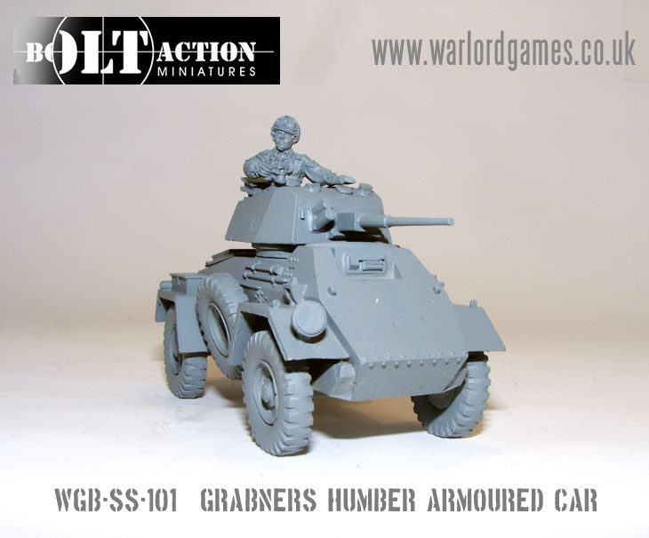 Grabner's Humber Armoured Car 1