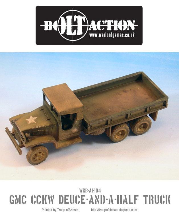 GMC CCKW Deuce-and-a-Half truck 2