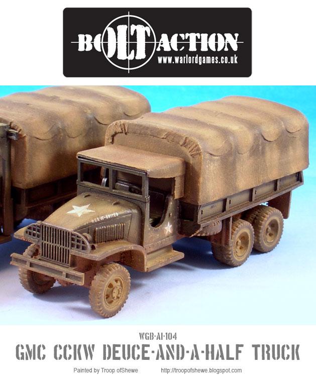 GMC CCKW Deuce-and-a-Half truck 3