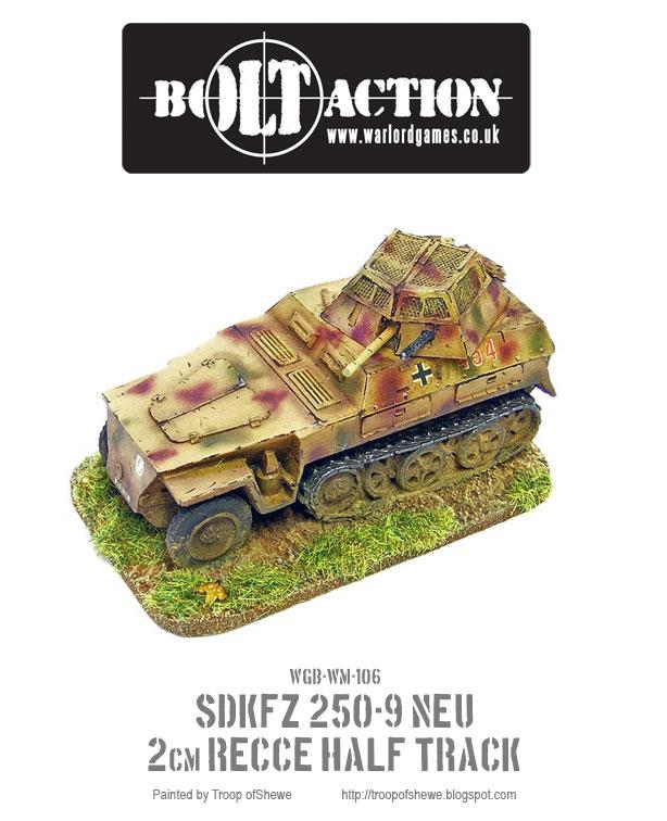 SDKFZ NEU 250-9 2cm Recce Half-Track 2