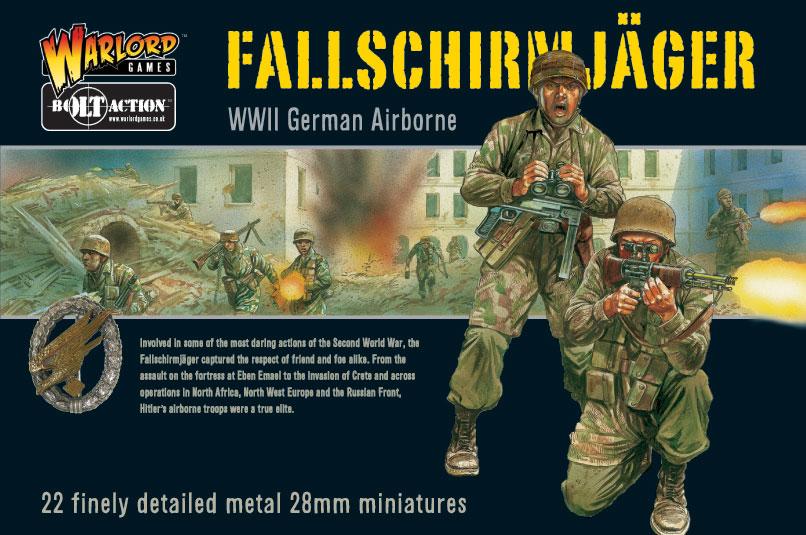 Fallschirmjager Boxed Set Cover