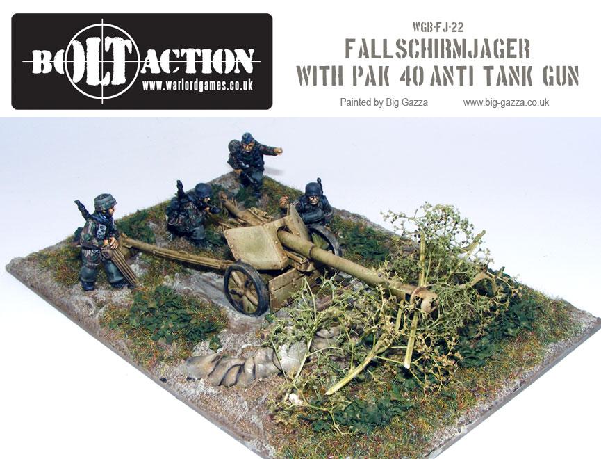 Fallschirmjager PaK 40