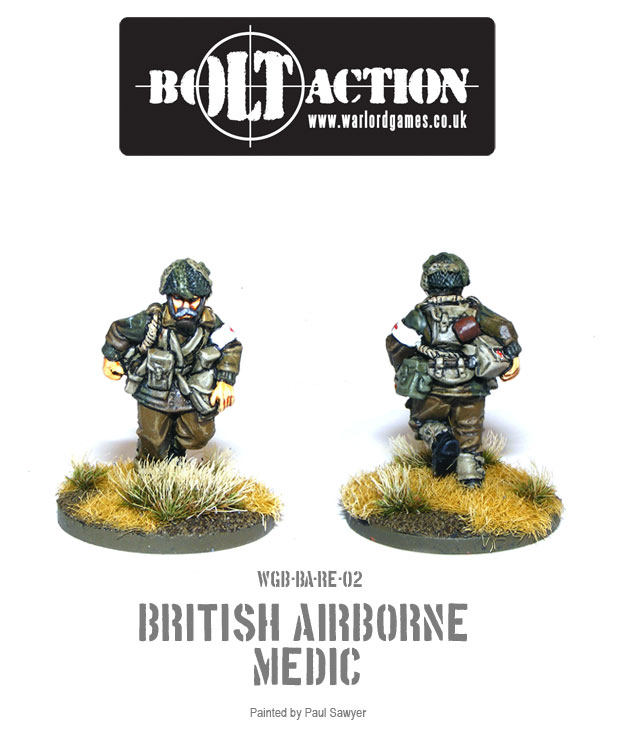 Bolt Action Red Devils Reinforcements 2