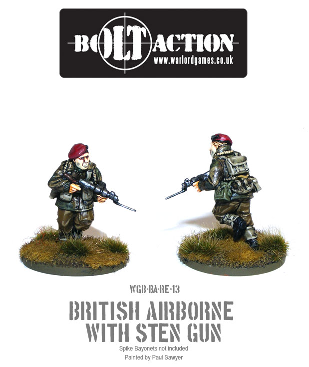 Bolt Action Red Devils Reinforcements 13