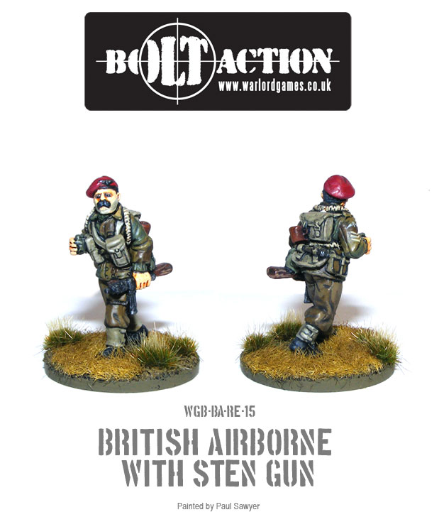Bolt Action Red Devils Reinforcements 15