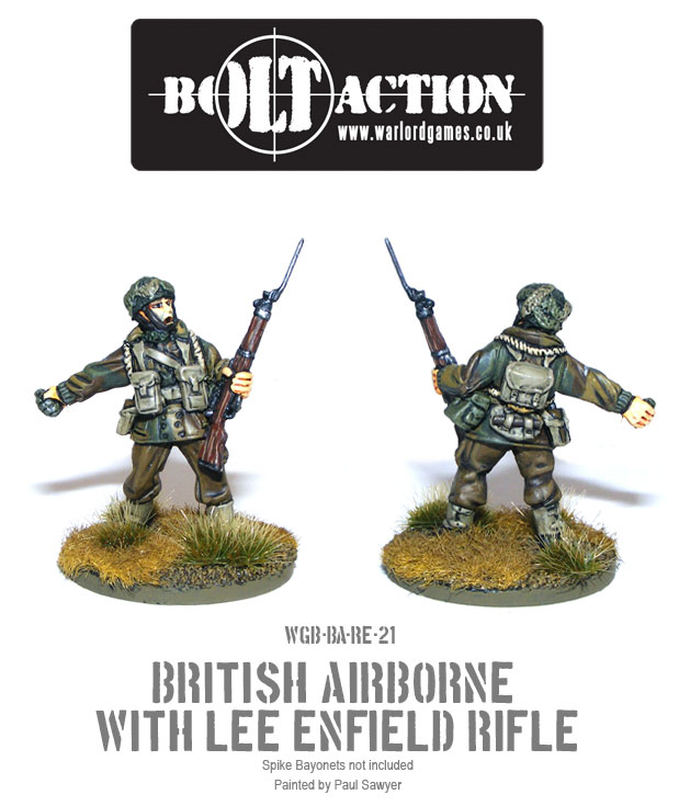 Bolt Action Red Devils Reinforcements 21