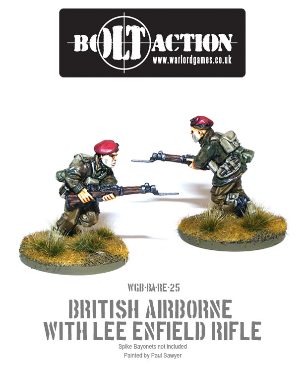 Bolt Action Red Devils Reinforcements 25