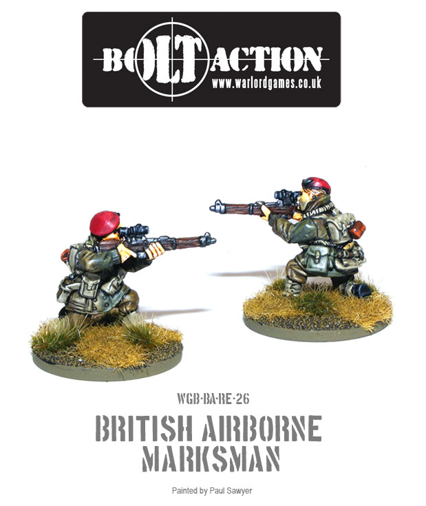 Bolt Action Red Devils Reinforcements 26