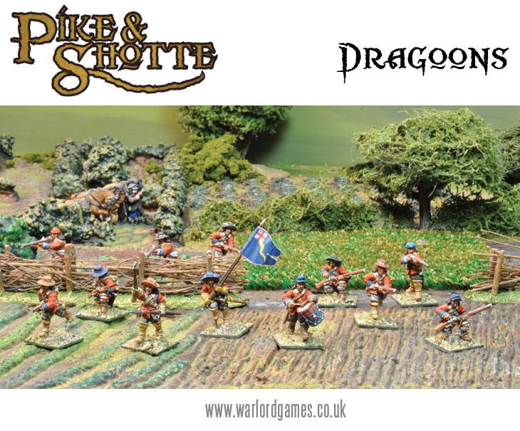 Dragoons on Foot