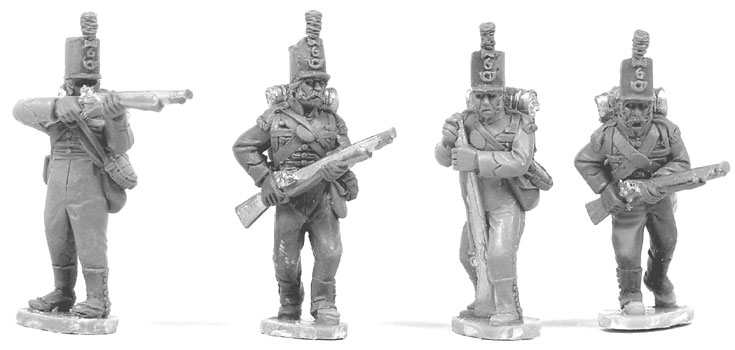 Victrix Cacadore Muskets