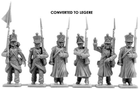 Victrix Old Guard Legere conversions