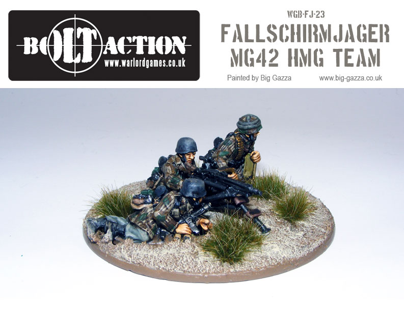 Fallschirmjager MG42 Team