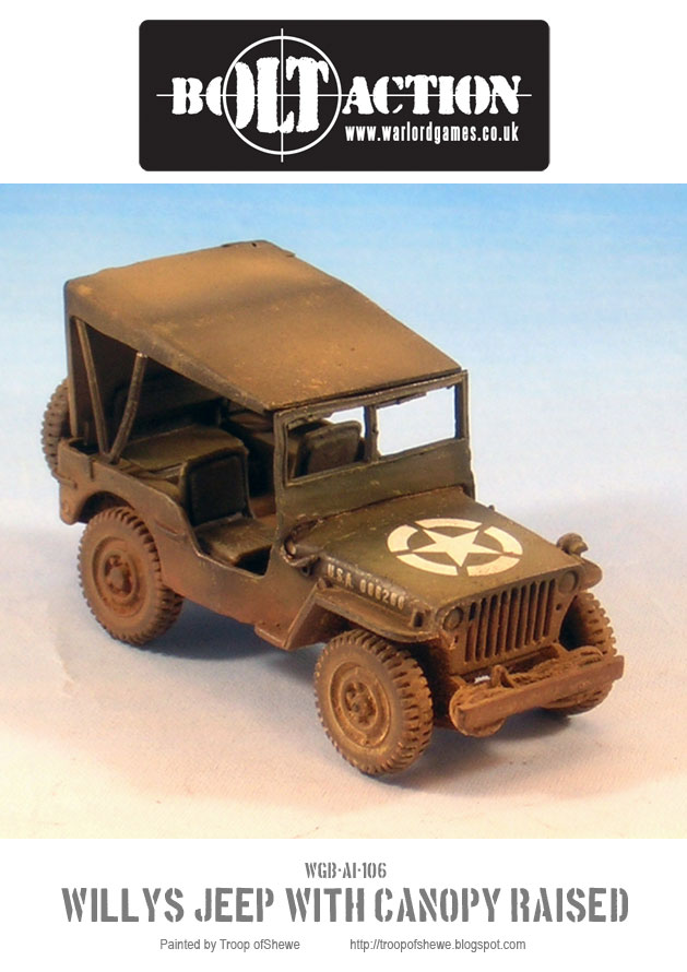 Willys Jeep with canopy