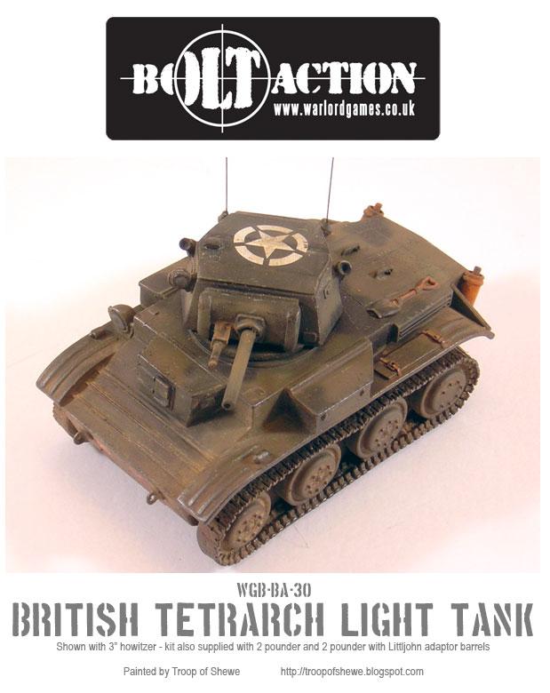 Tetrarch Light Tank top